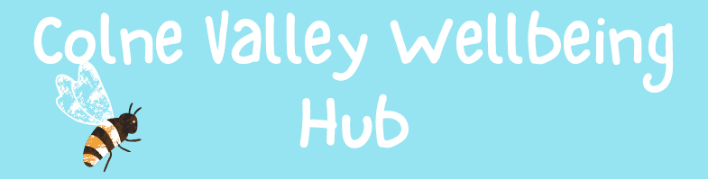 colne valley wellbeing hub event logo